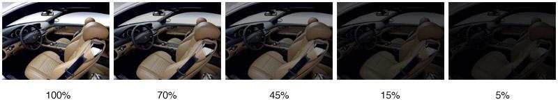 Тонировка 5 процентов как выглядит